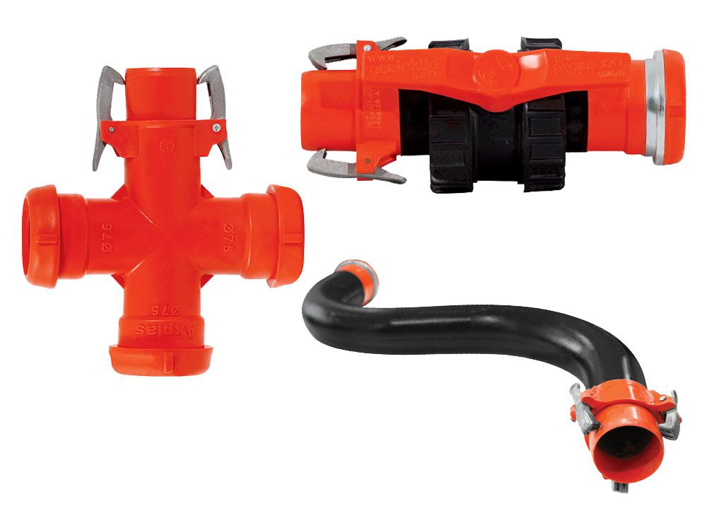 Latched Sprinkler Fittings